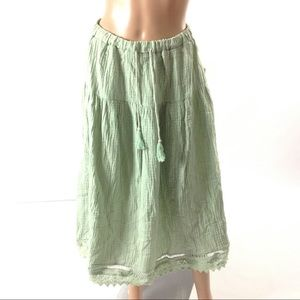 Rylee and Cru Women Maxi Skirt Size S